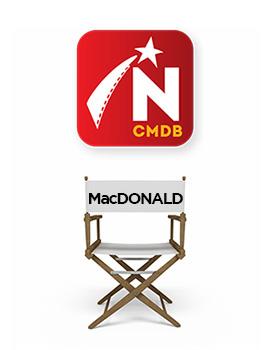 Daniel MacDonald, Canadian actor,
