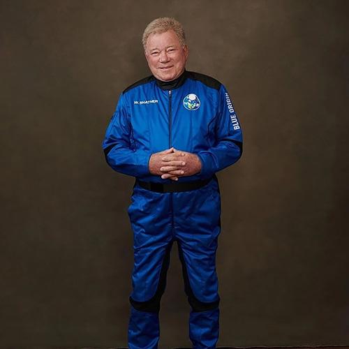 William Shatner, Blue Origin, photo,