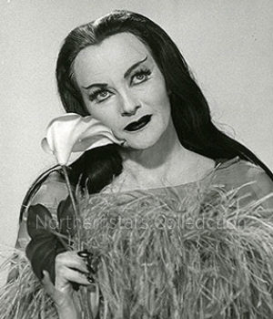 Yvonne De Carlo, Lily Munster, actress,