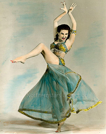 This photo of Yvonne De Carlo was scanned from an original in the Northernstars Collection.