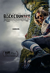 Poster for the 2014 movie, Backcountry