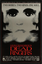 This poster for Dead Ringers was scanned from an original in the Northernstars Collection