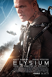 Elysium, movie poster