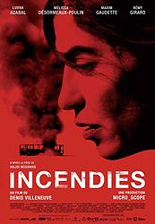 Incendies, movie poster