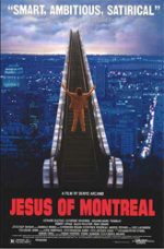 Jesus of Montreal, movie, poster