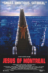 Poster for the 1989 movie, Jésus de Montréal