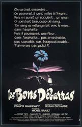 Poster for the 1980 film Les bon débarras.