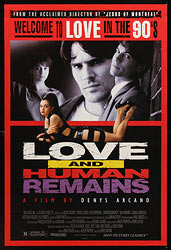 This poster for Love and Human remains was scanned from an original in the Northernstars Collection