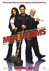 Men with Brooms, movie poster