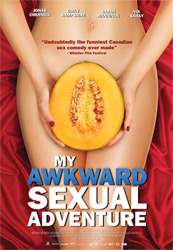Poster for the 2012 film My Awkward Sexual Adventure courtesy of Phase 4 Films