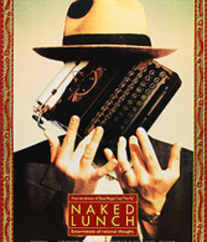 Naked Lunch, movie poster,