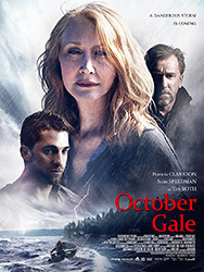 October Gale, movie, poster,