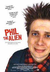 ;Phil the Alien, 2004 movie poster;