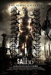 Saw 3D, movie poster