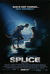;Splice, 2009 Northernstars Collection movie poster;