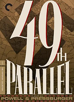 49th Parallel, movie poster