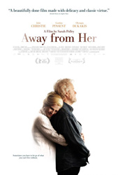 Poster for Away From Her courtesy of Mongrel Media