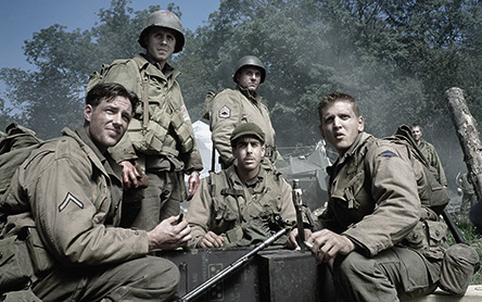 ;Barry Pepper in Saving Private Ryan;