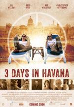 Three Days in Havana, movie poster,