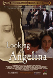 Movie poster for the 2005 film, Looking for Angelina