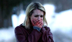 Emma Roberts in a production still from the film, February