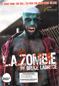 L.A.Zombie, movie, poster,