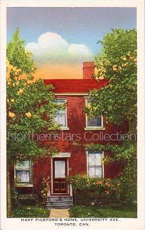 Mary Pickford, postcard,