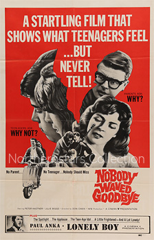 Nobody Waved Goodbye, Northernstars Collection, movie, poster,