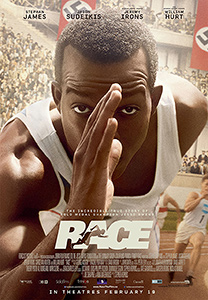 Race, 2016, movie, film, poster,