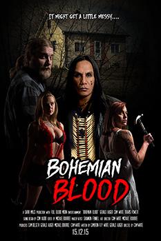 Bohemian Blood, movie poster