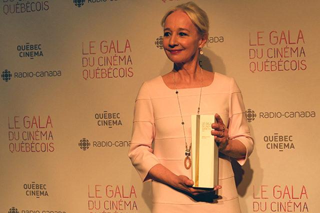 Diane Lavallée, actress,