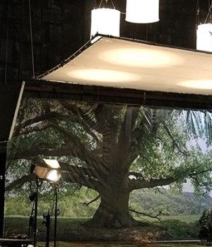Shutterstock image of Studio set