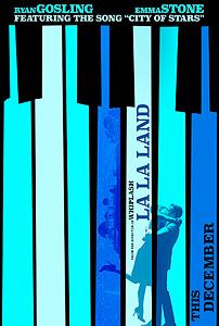 La La Land, movie, poster, 2016,