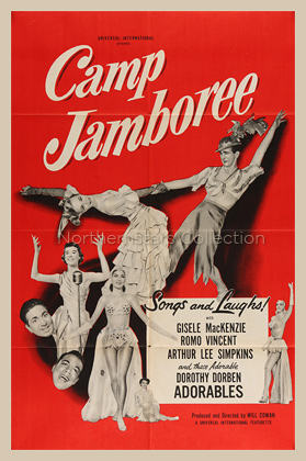 Camp Jamboree, movie poster