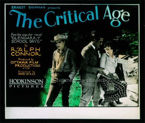 The Critical Age, glass slide