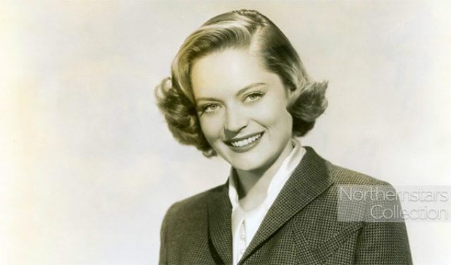 Alexis Smith, actress,