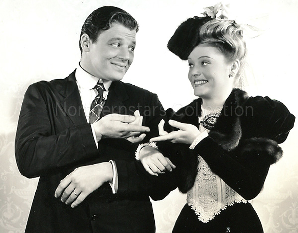 Jack Carson, Alexis Smith, photo, Northernstars Collection,