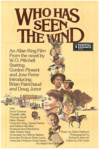 Who Has Seen The Wind, movie poster