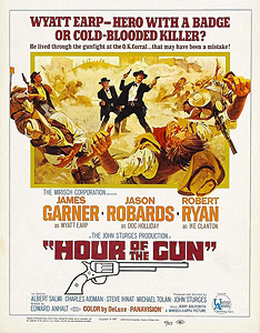 Hour of the Gun, movie, poster.