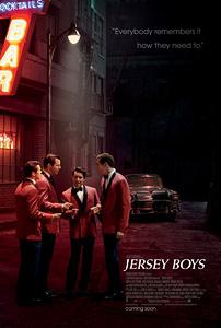 Jersey Boys, movie, poster,
