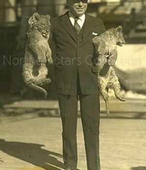 Mack Sennett, actor, director,
