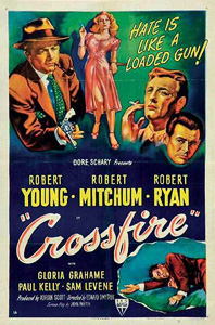 Crossfire, movie, poster,