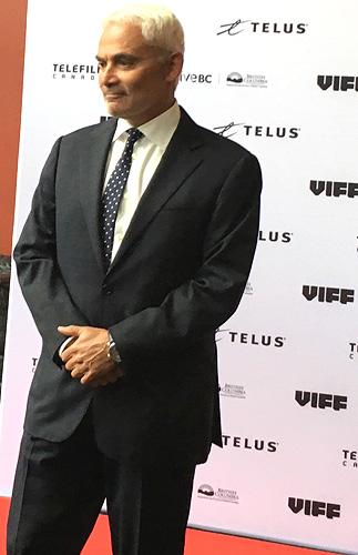 Frank Giustra, VIFF, 2016,