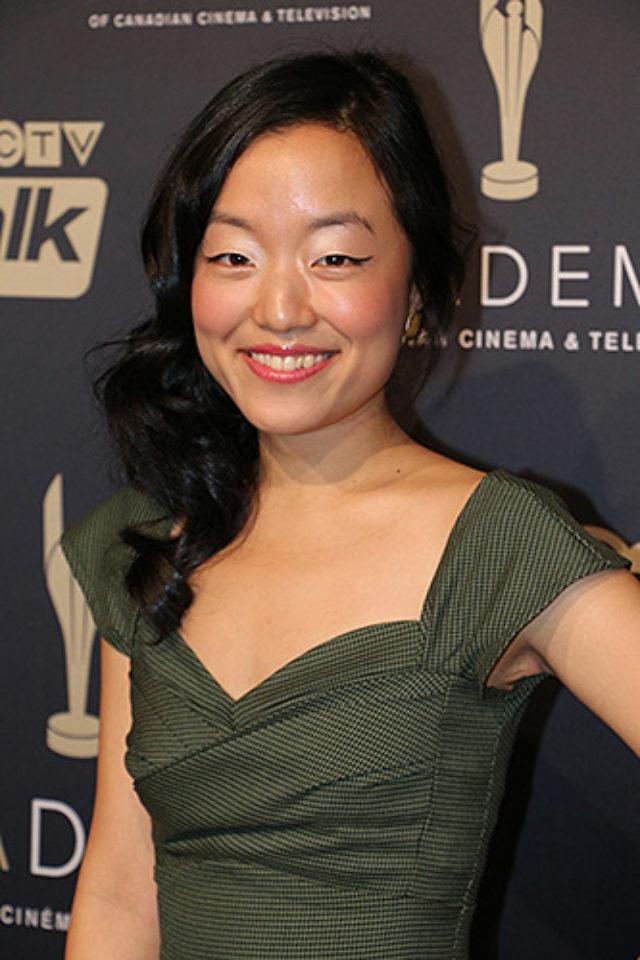 Andrea Bang, actress,