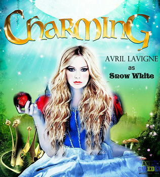 Charming, movie, poster, Avril Lavigne,