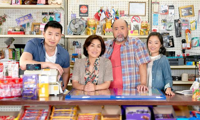 Kim's Convenience, cast, photo,