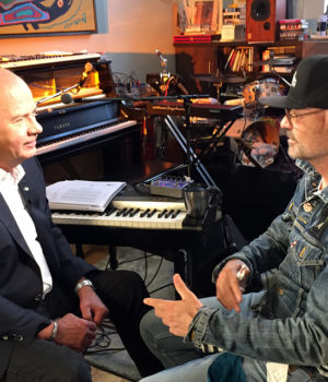 Peter Mansbridge, Gord Downie,