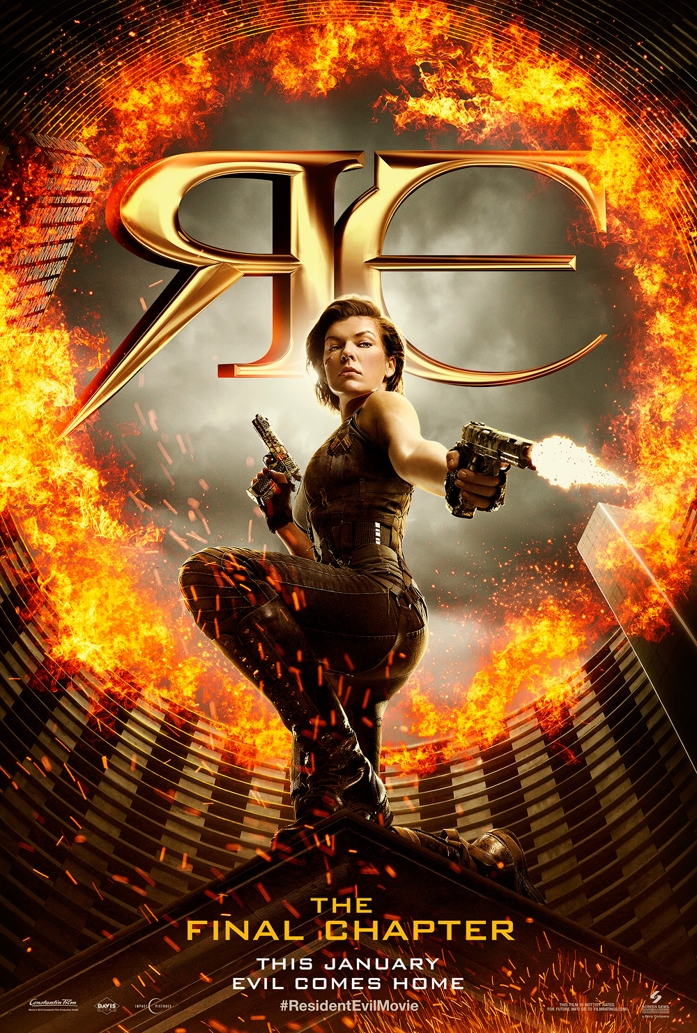 Resident Evil: The Final Chapter, movie, poster, 2017,