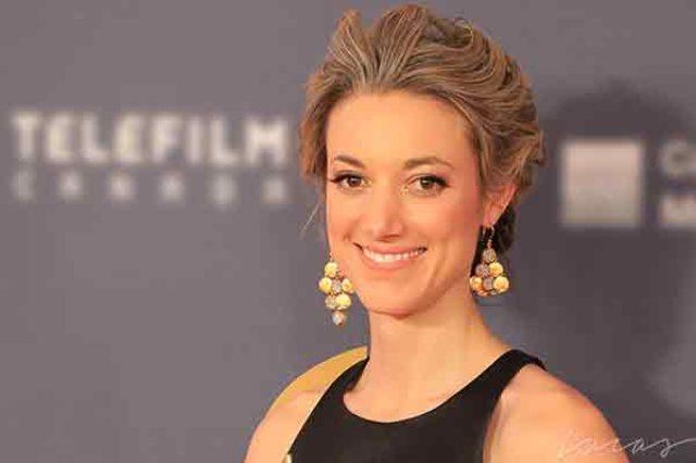 Zoie Palmer, actress,
