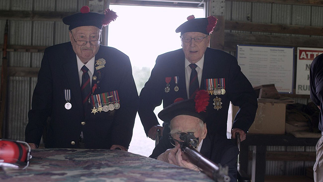 Promotional still for Black Watch Snipers courtesy of History® Canada. Used with permission.